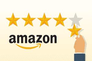 ביקורות על מוכר ומוצרים באמזון